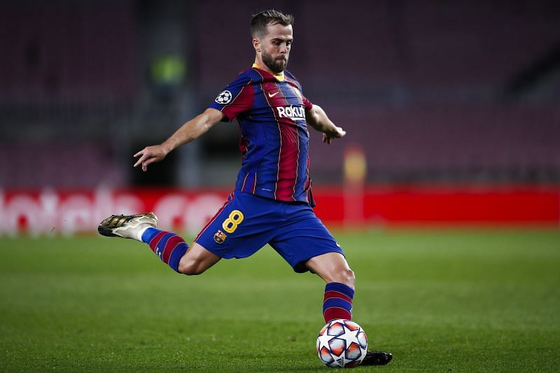 Pjanic has not cemented his place at Barcelona