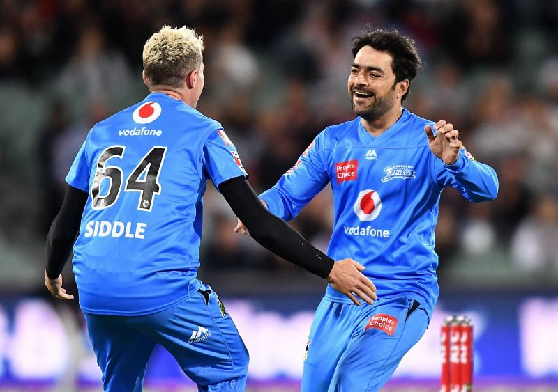 Rashid Khan has been one of the best bowlers in the BBL.