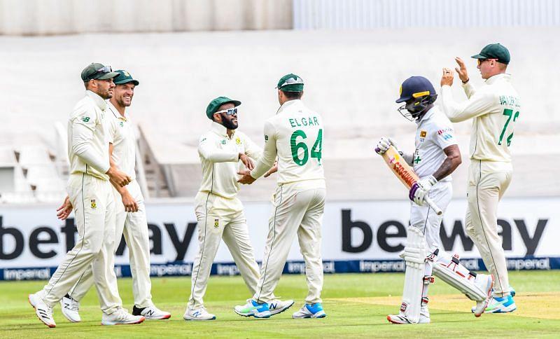 South Africa cricket team whitewashed Sri Lanka 2-0 at home