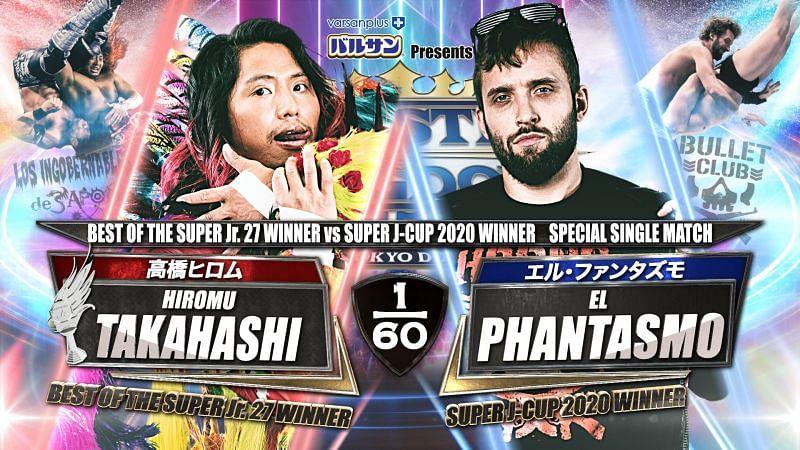 It is a huge match to open Wrestle Kingdom 15.