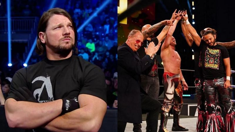 AJ Styles reacts to the Bullet Club reunion in AEW