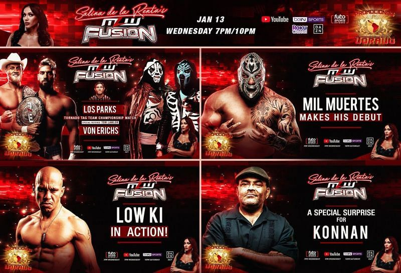 MLW Fusion lineup