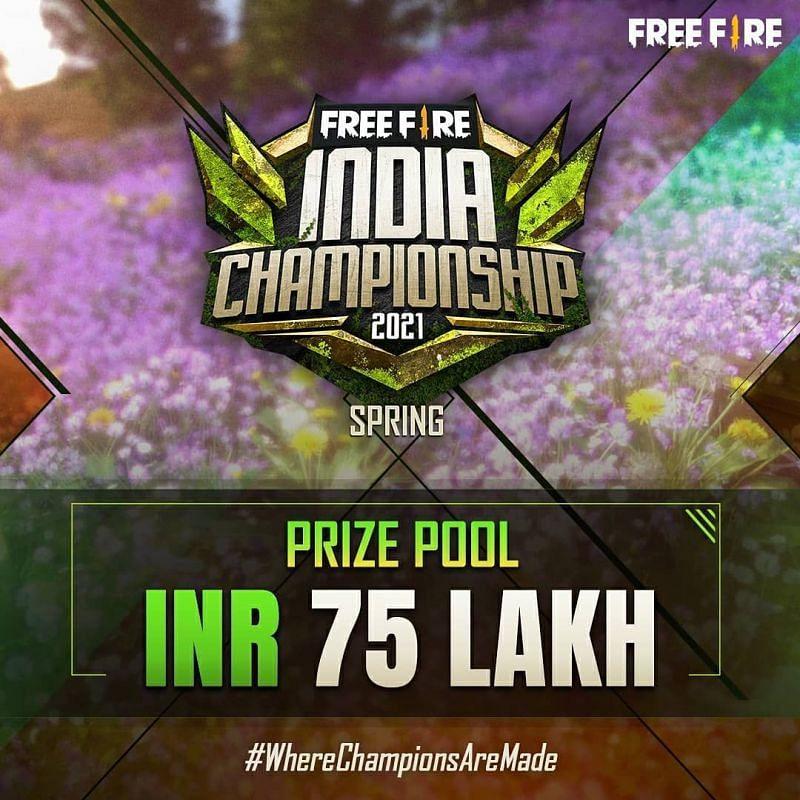 Free Fire India Championship 2021 spring split