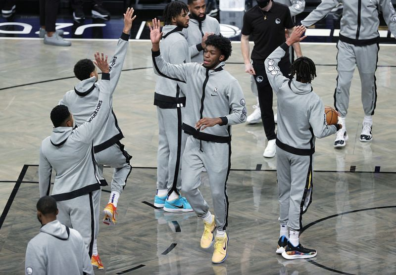 Golden State Warriors v Brooklyn Nets.