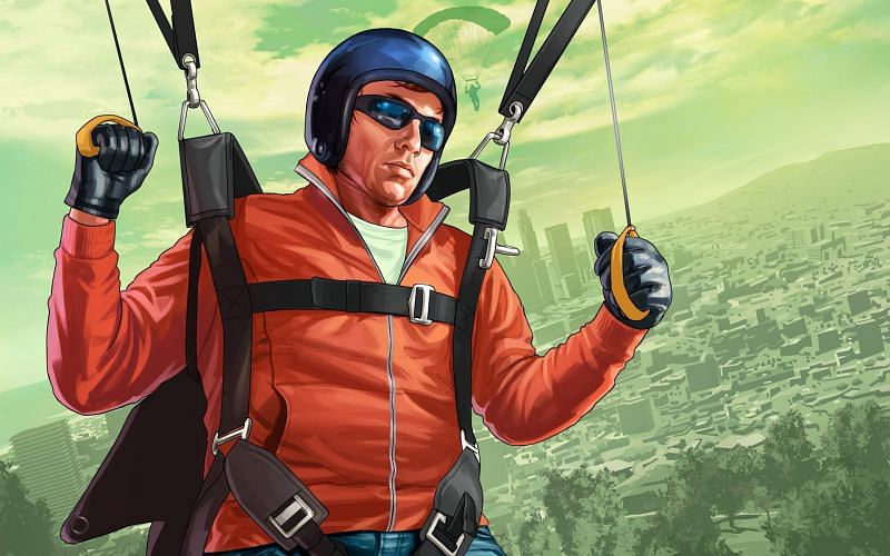 A parachute jump can be quite the experience (Image via PrimaGames)