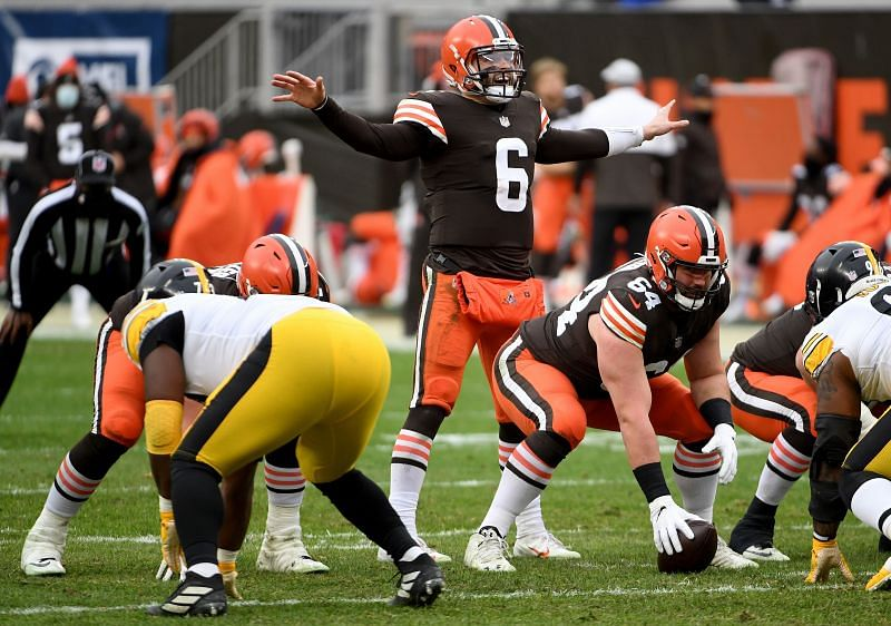 Cleveland Browns QB Baker Mayfield Makes His Playoff Debut Against The Pittsburgh Steelers On Sunday