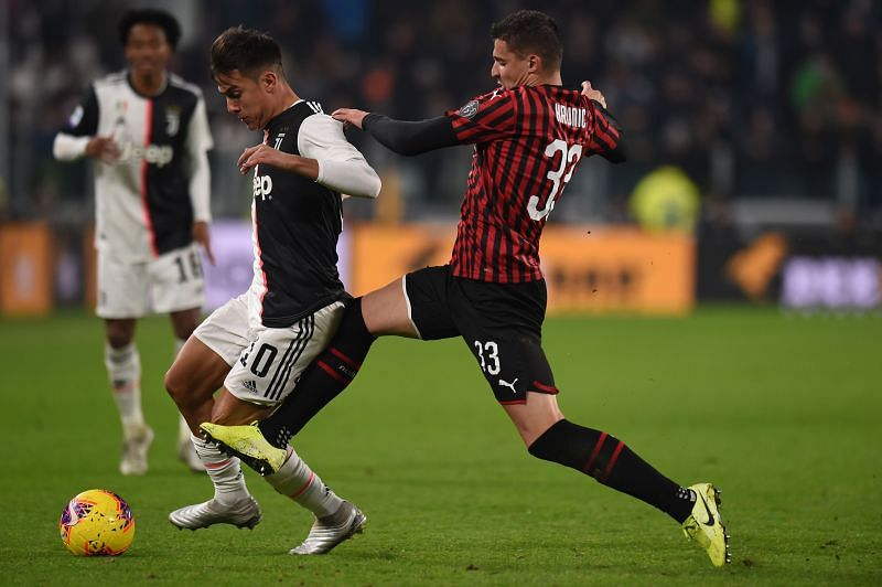 AC Milan will hope to widen the gap at the top of the Serie A by beating Juventus
