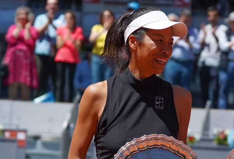 Hsieh will look to follow up on her upset win in the first round.