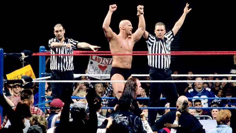 Stone Cold Steve Austin in all his glory