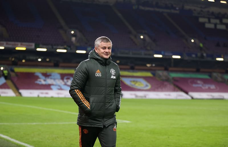 Manchester United manager Ole Gunnar Solskjaer finds his team at the top of the league