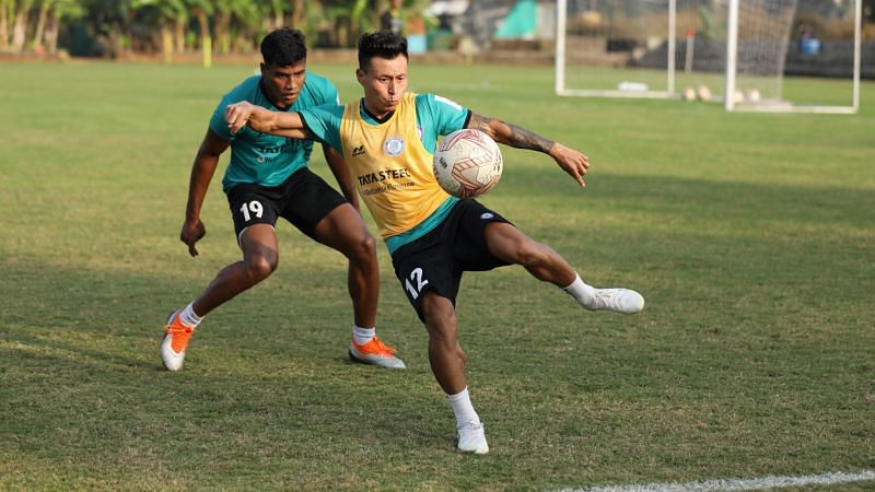 Jackichand Singh has made 3 assists for Jamshedpur FC so far in the ISL 2020-21 season. (Image: Jamshedpur FC)