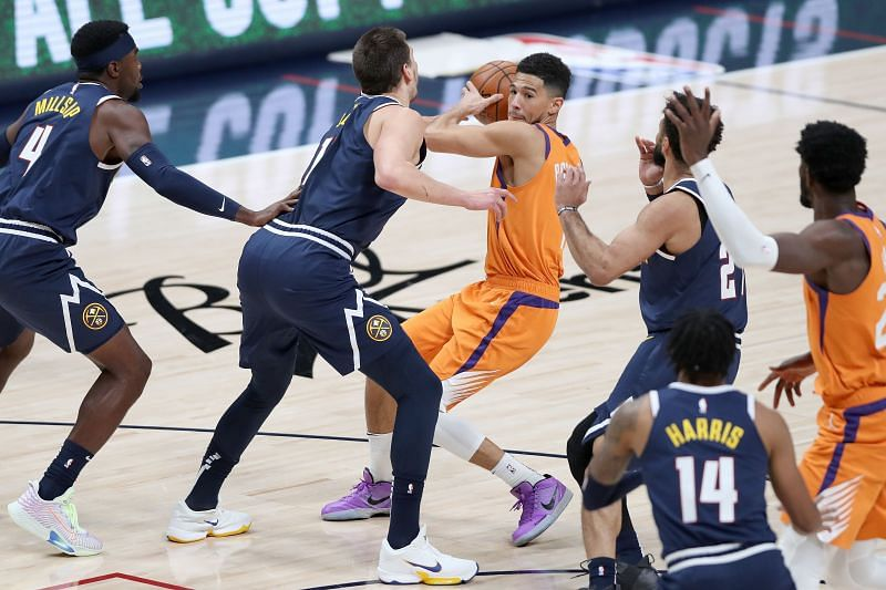 The Denver Nuggets take on the New York Knicks next