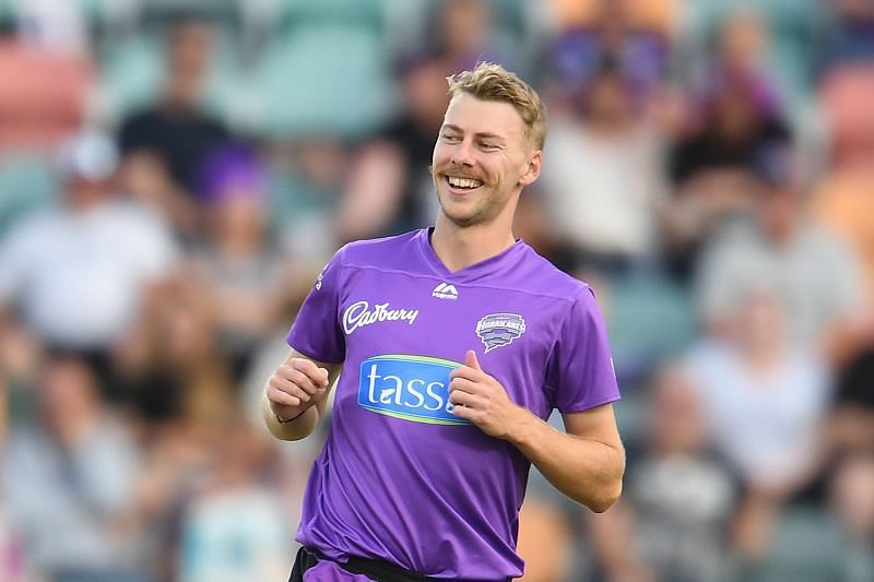 Riley Meredith has ten wickets in the BBL so far this season