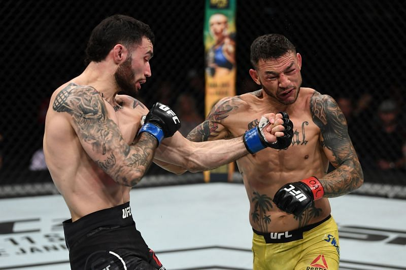 Shane Burgos has become renowned for his exciting fights in the UFC.