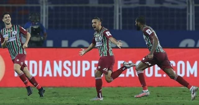 David Williams (C) adds extra pace and dynamism to the ATK Mohun Bagan FC attacking line-up. (Image: ISL)