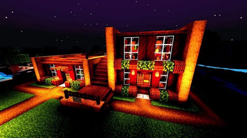 Olesik Shader (Image via Minecraft)