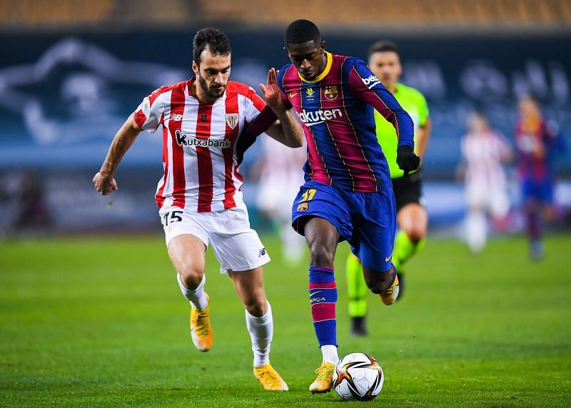 Winger Ousmane Dembele is eager to prove himself at Barcelona