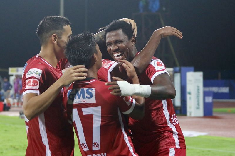 Odisha FC players registered an emphatic win against Kerala to instill some motivation for their campaign. Courtesy: ISL