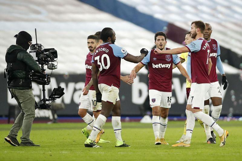 West Ham United won 1-0 against Burnley in the weekend