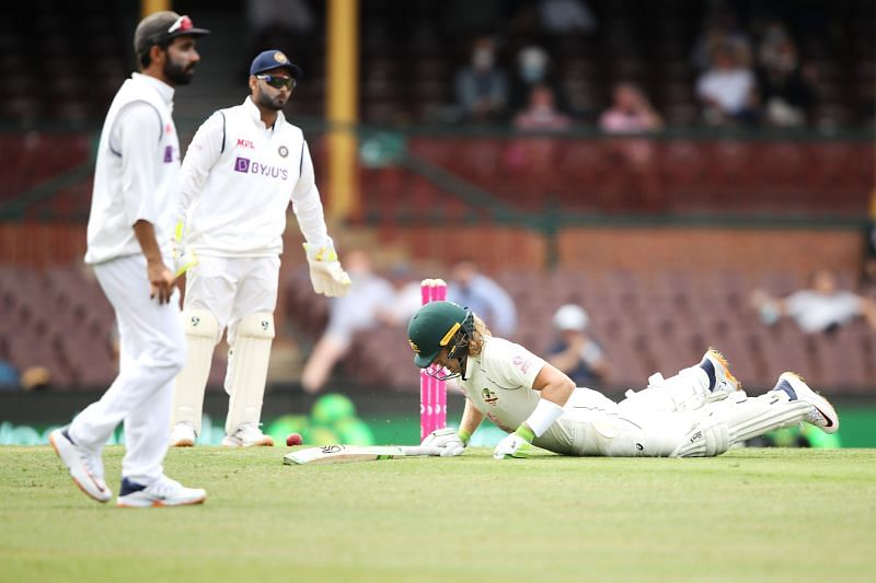 India missed several chances on the field on Day 1
