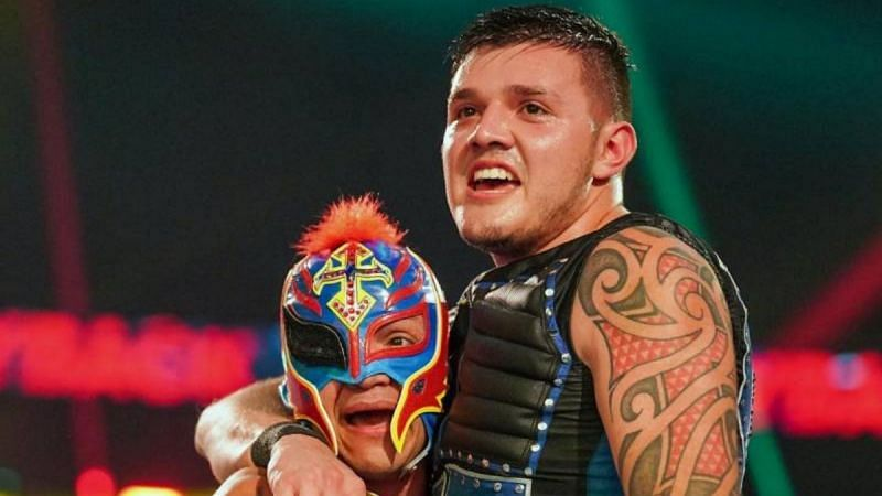 Dominik and Rey Mysterio.