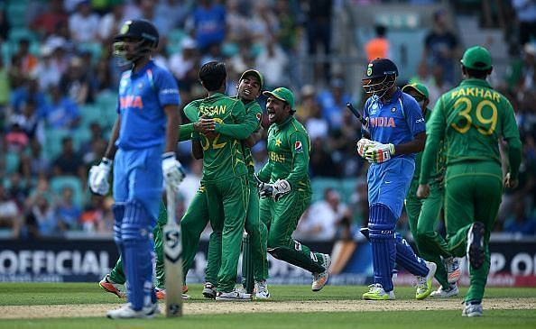 Hasan Ali scalped three wickets in the 2017 Champions Trophy final.