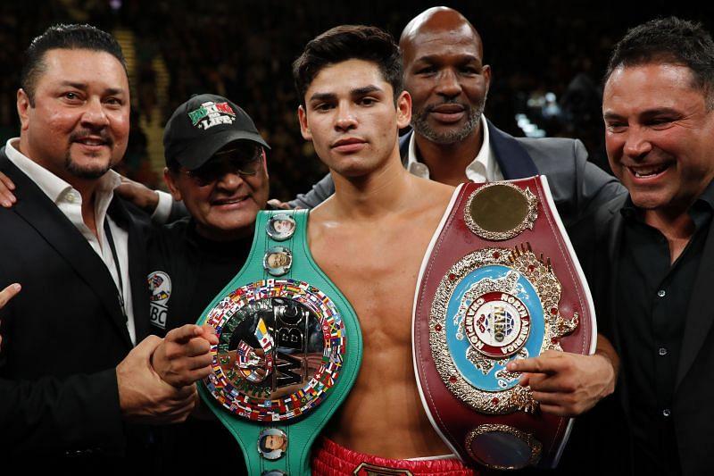 Interim WBC lightweight champion Ryan Garcia