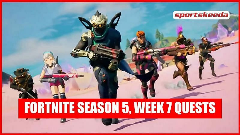 Fortnite Season 5 Week 7 challenges
