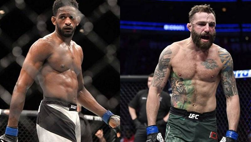 Neil Magny (left); Michael Chiesa (right)