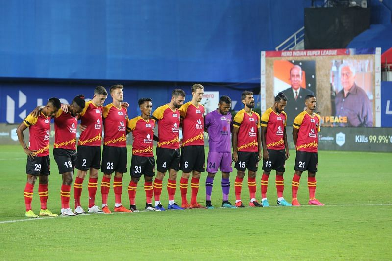 SC East Bengal in their first season in the ISL