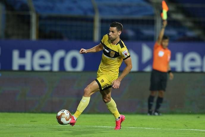 Joel Chianese has added dynamism and pace to the Hyderabad FC midfield. (Image: ISL)