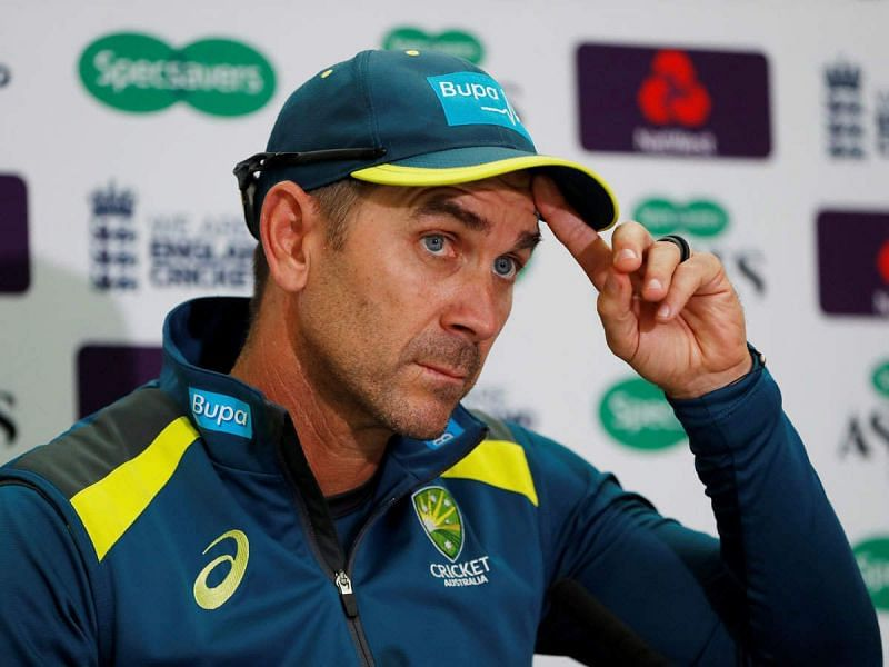 Justin Langer spoke to the media on Wednesday