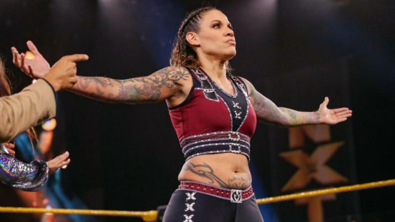 Mercedes Martinez revealed today why she left the RETRIBUTION group to return to WWE NXT.