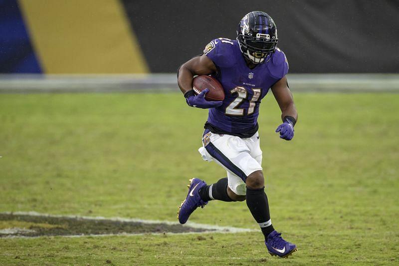 Baltimore Ravens running back Mark Ingram