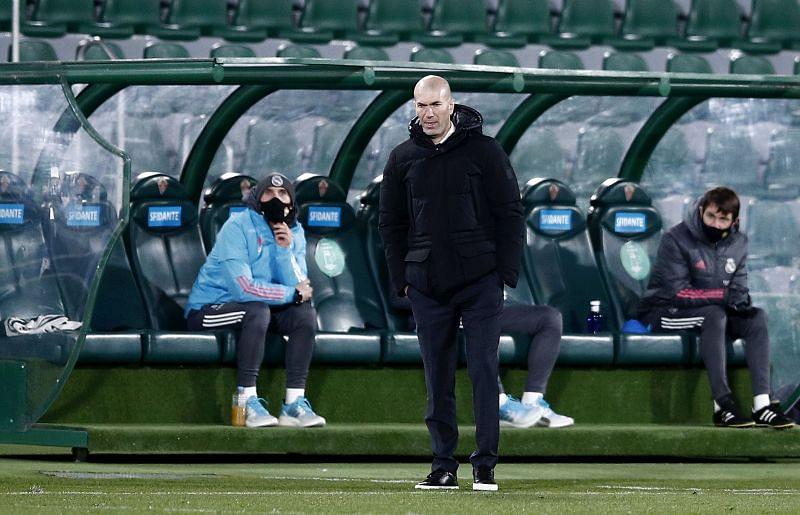 Real Madrid coach <a href=