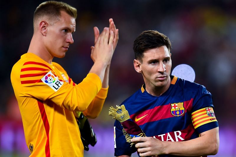 Lionel Messi and Ter Stegen have not always seen eye-to-eye at Barcelona.