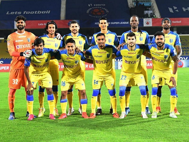Kerala Blasters FC will aim for better performance in the second half of the season (Courtesy - ISL)