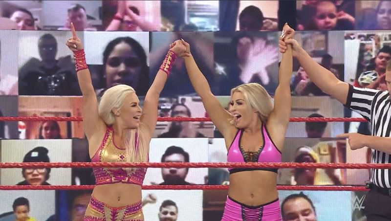 Mandy Rose and Dana Brooke will be featured in the 30-Man elimination match