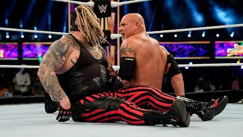 The Fiend and Goldberg in WWE