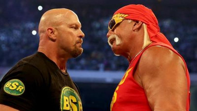 Steve Austin and Hulk Hogan