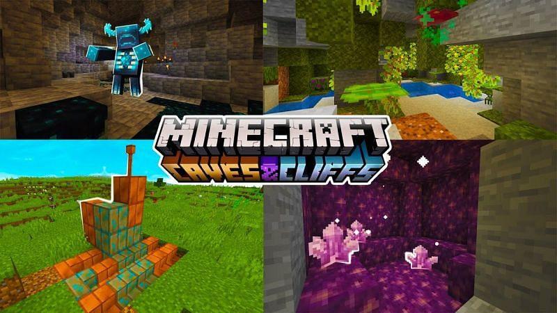 5 best Minecraft 1 17 Caves and Cliffs update mods in 2021