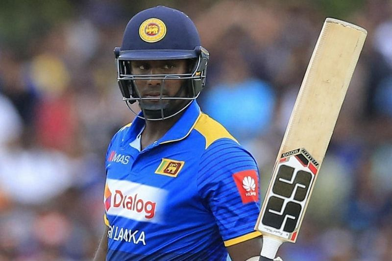 Angelo Mathews remains a batting all-rounder for Sri Lanka