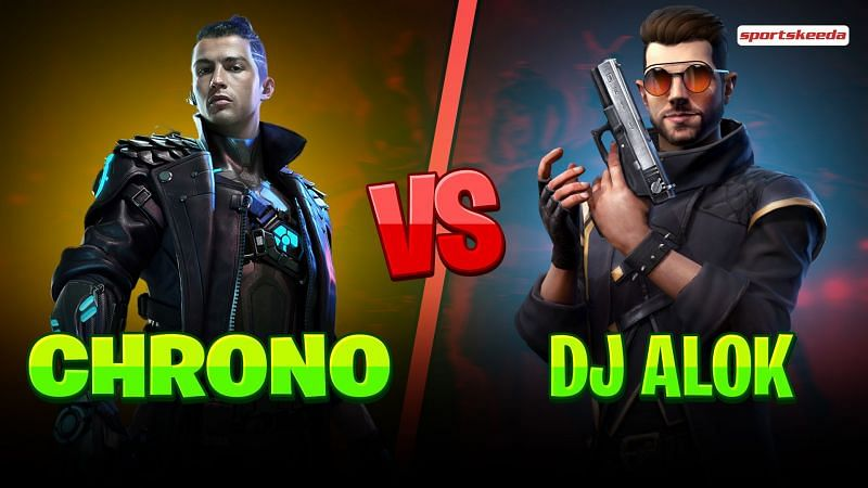 Chrono and DJ Alok are characters in Garena Free Fire (Image via Sportskeeda)