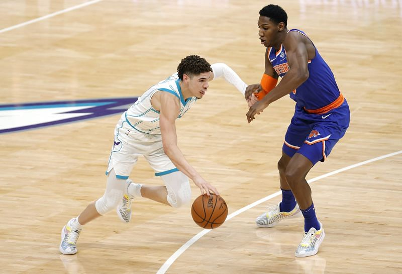 Charlotte Hornets rookie guard LaMelo Ball