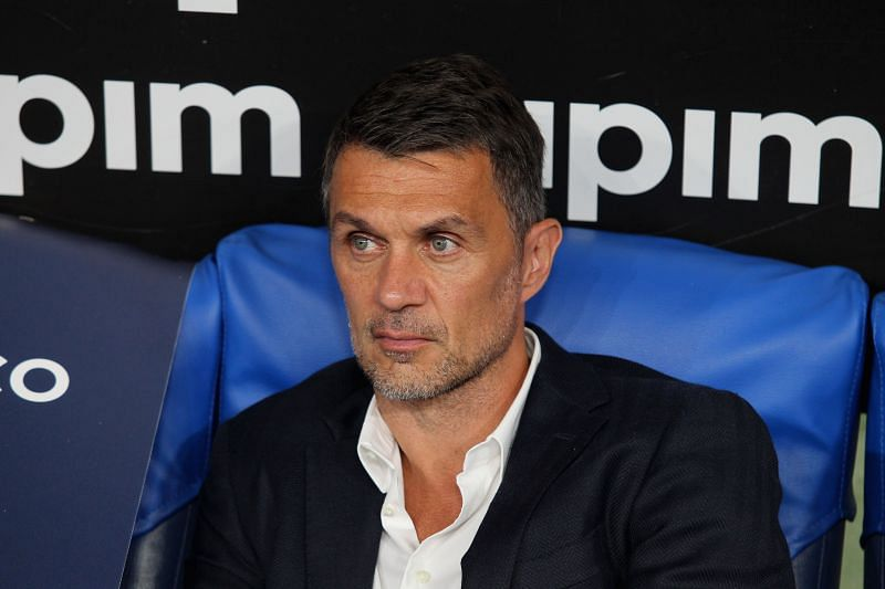AC Milan technical director Paolo Maldini