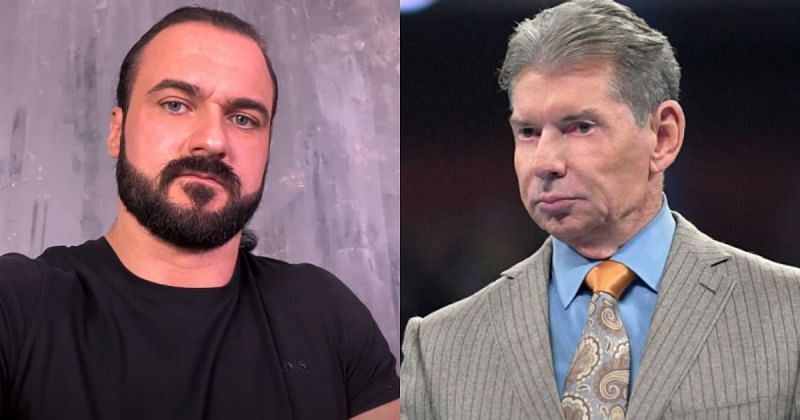 Drew McIntyre and Vince McMahon.