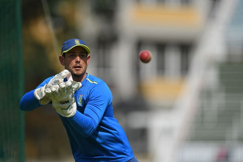 Quinton de Kock will lead the South African team in the Johannesburg Test