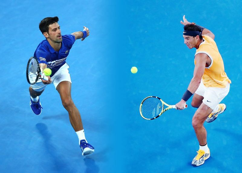 Novak Djokovic and Rafael Nadal are the top-ranked players at the ATP Cup