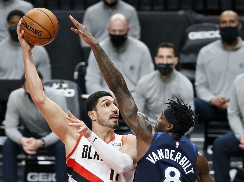 Enes Kanter of the Portland Trail Blazers.