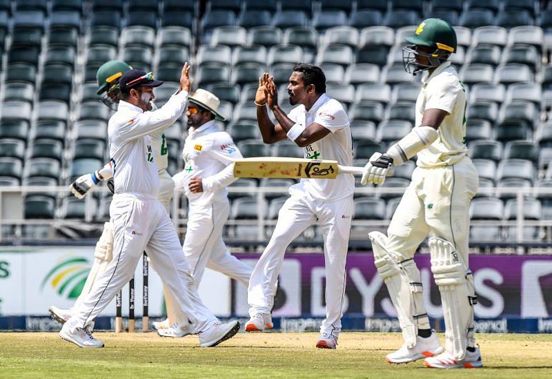 South Africa v Sri Lanka - Second Test Day 2